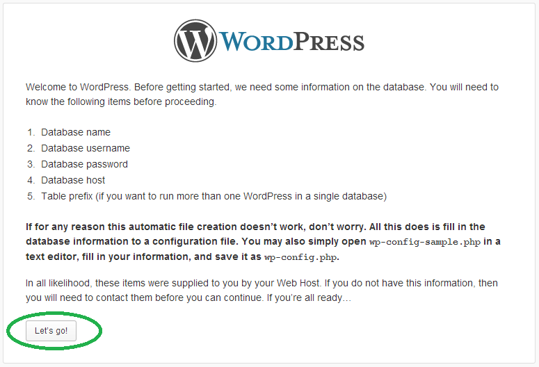 install wordpress in local server - Step to Install